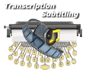 Transcrição e legendagem